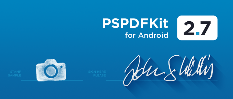 Illustration: PSPDFKit 2.7 for Android