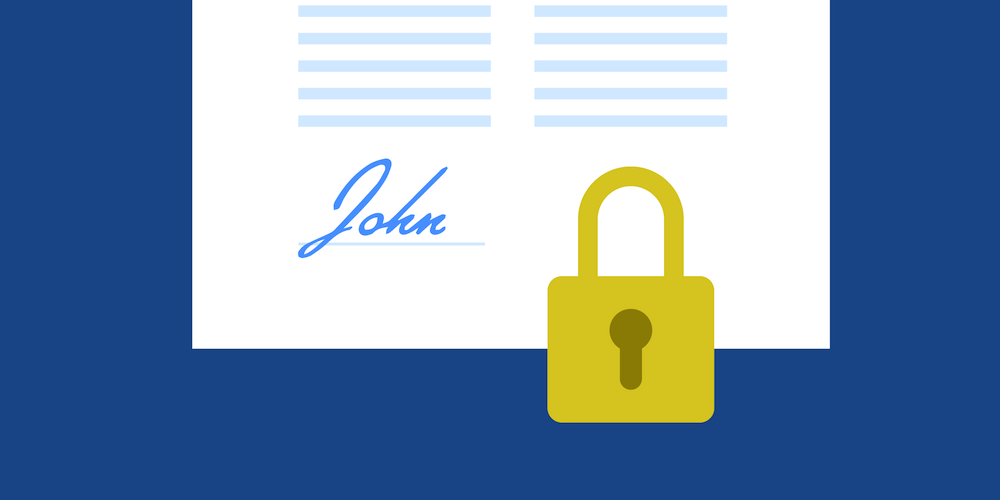 Illustration: What PDF Digital Signatures Are and Why They Are Important