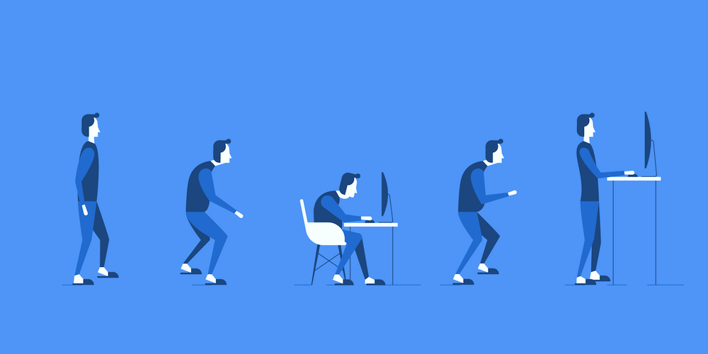 Illustration: Switching to a Standing Desk