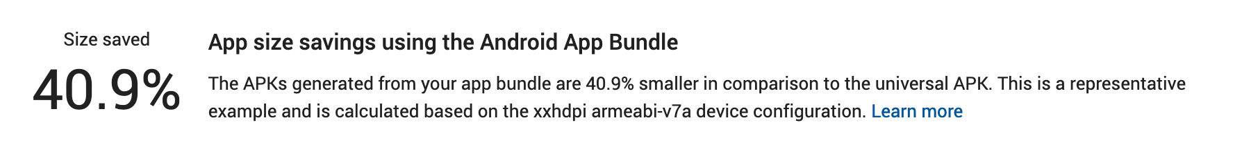 App Bundle Save Percentage