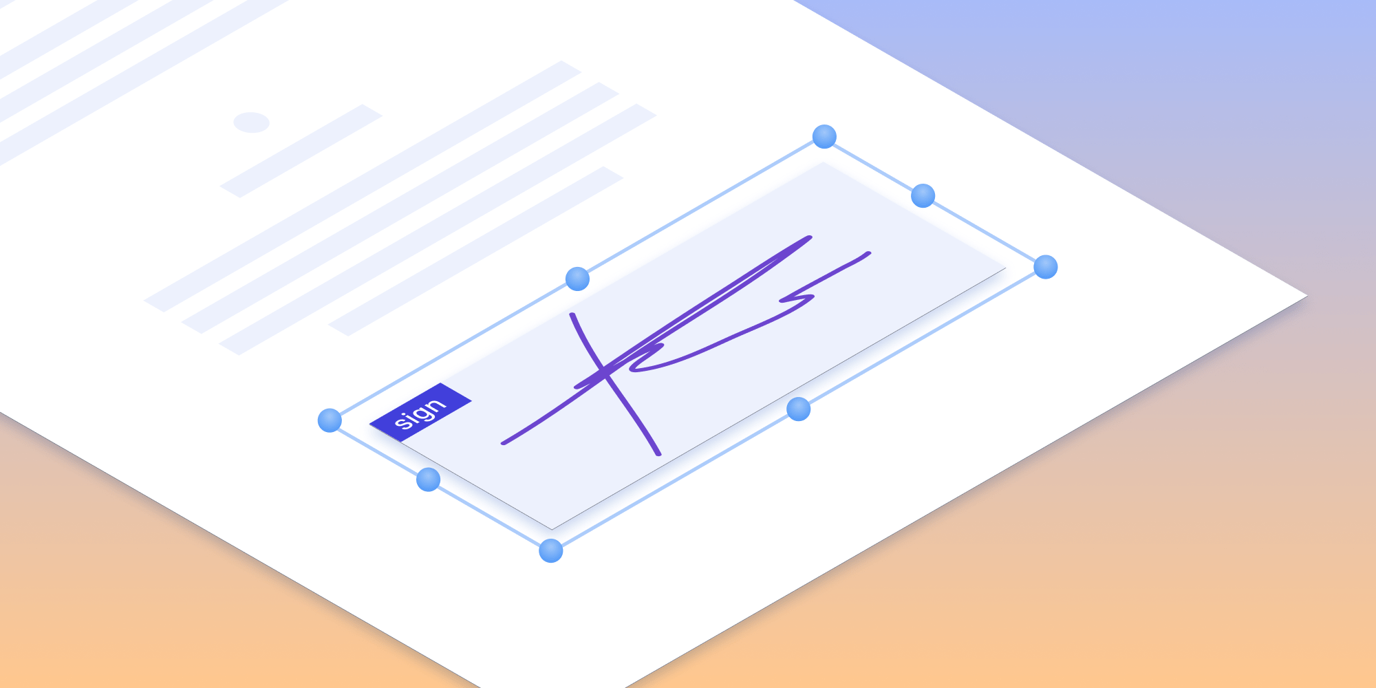 Illustration: Creating a PDF Form with Signature Form Fields