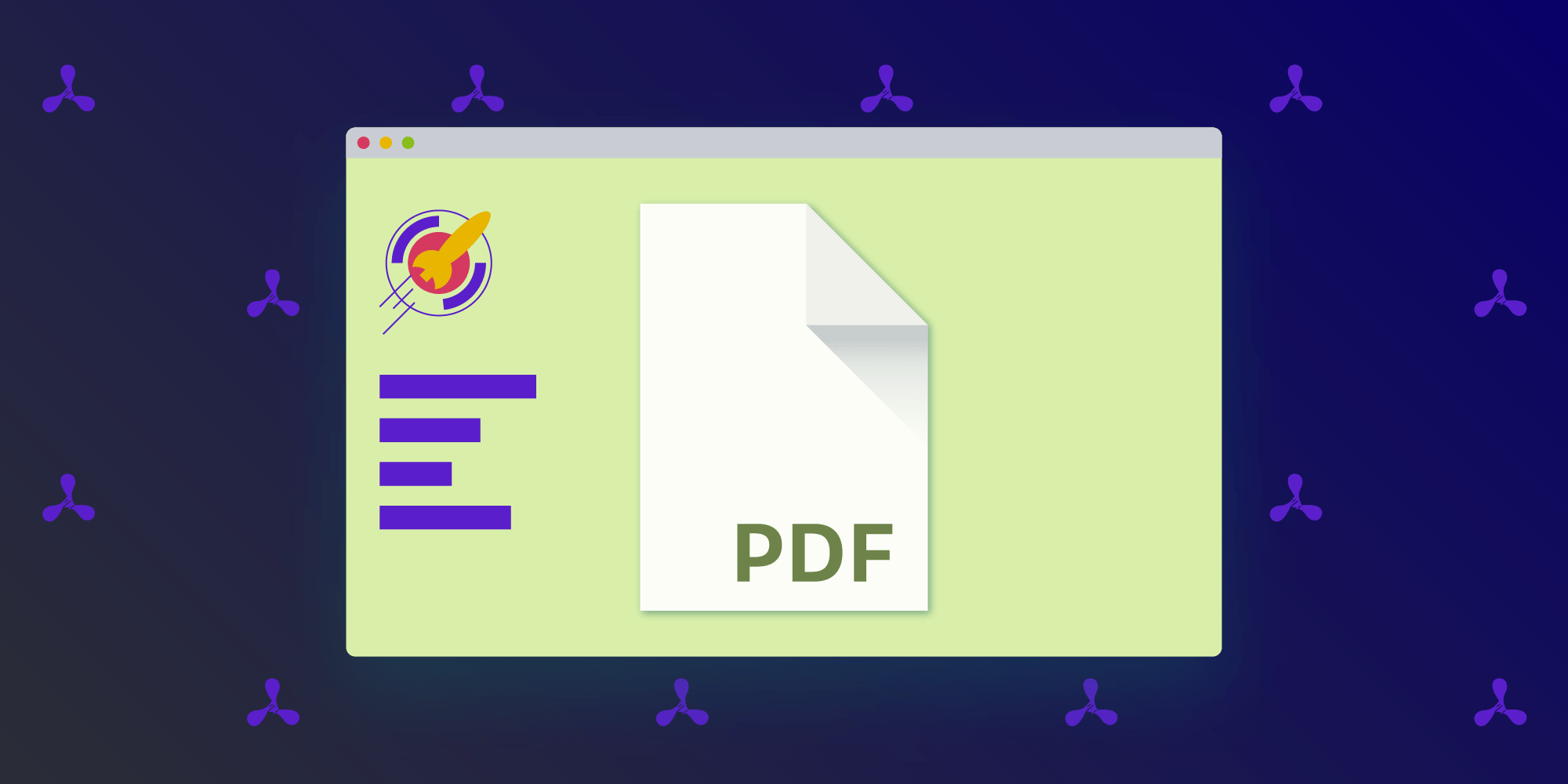 Illustration: Serving PDFs with Express.js