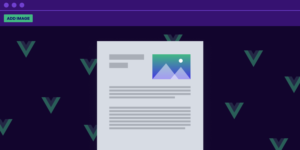 Illustration: How to Upload an Image and Insert It as an Annotation with Vue.js
