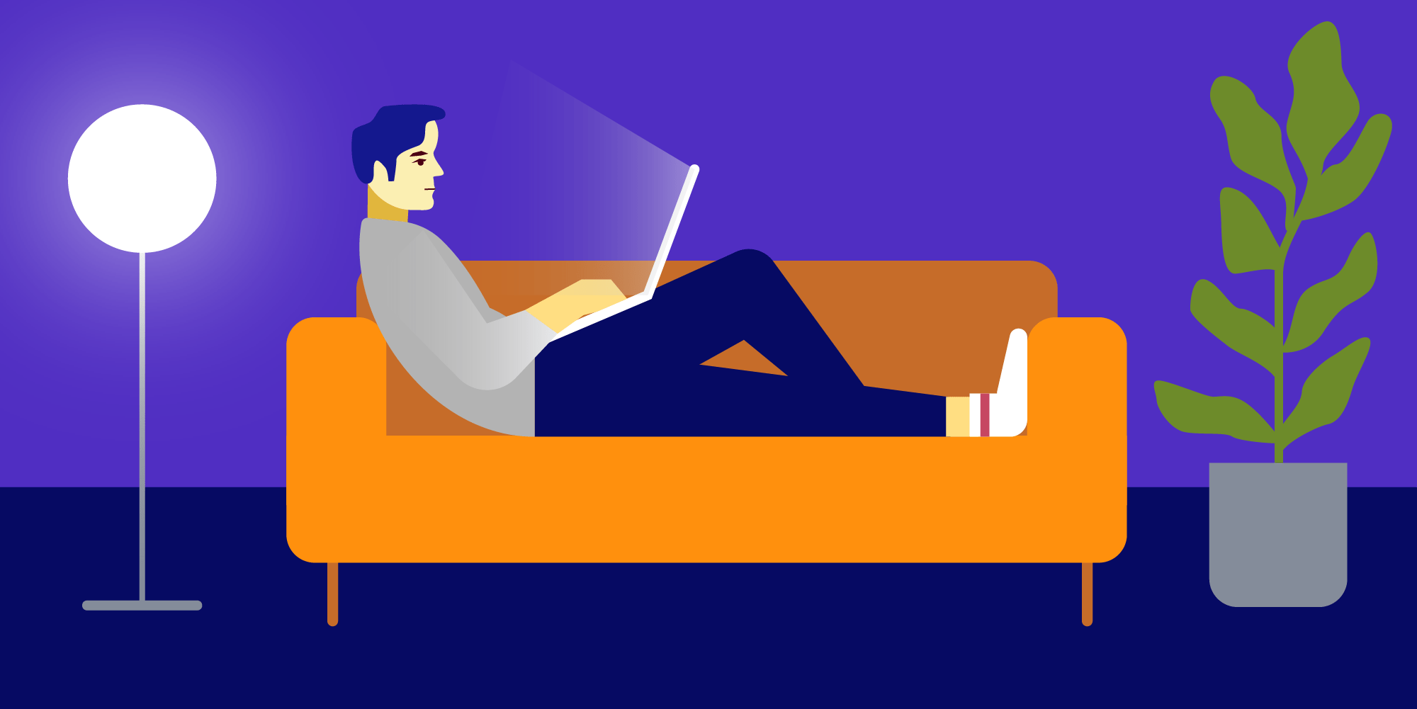 Illustration: Remote Work: How to Overcome Common Struggles of Working from Home