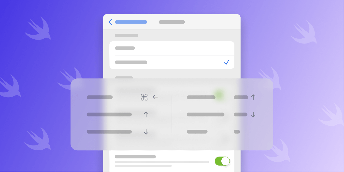 Illustration: Keyboard Navigation in SwiftUI