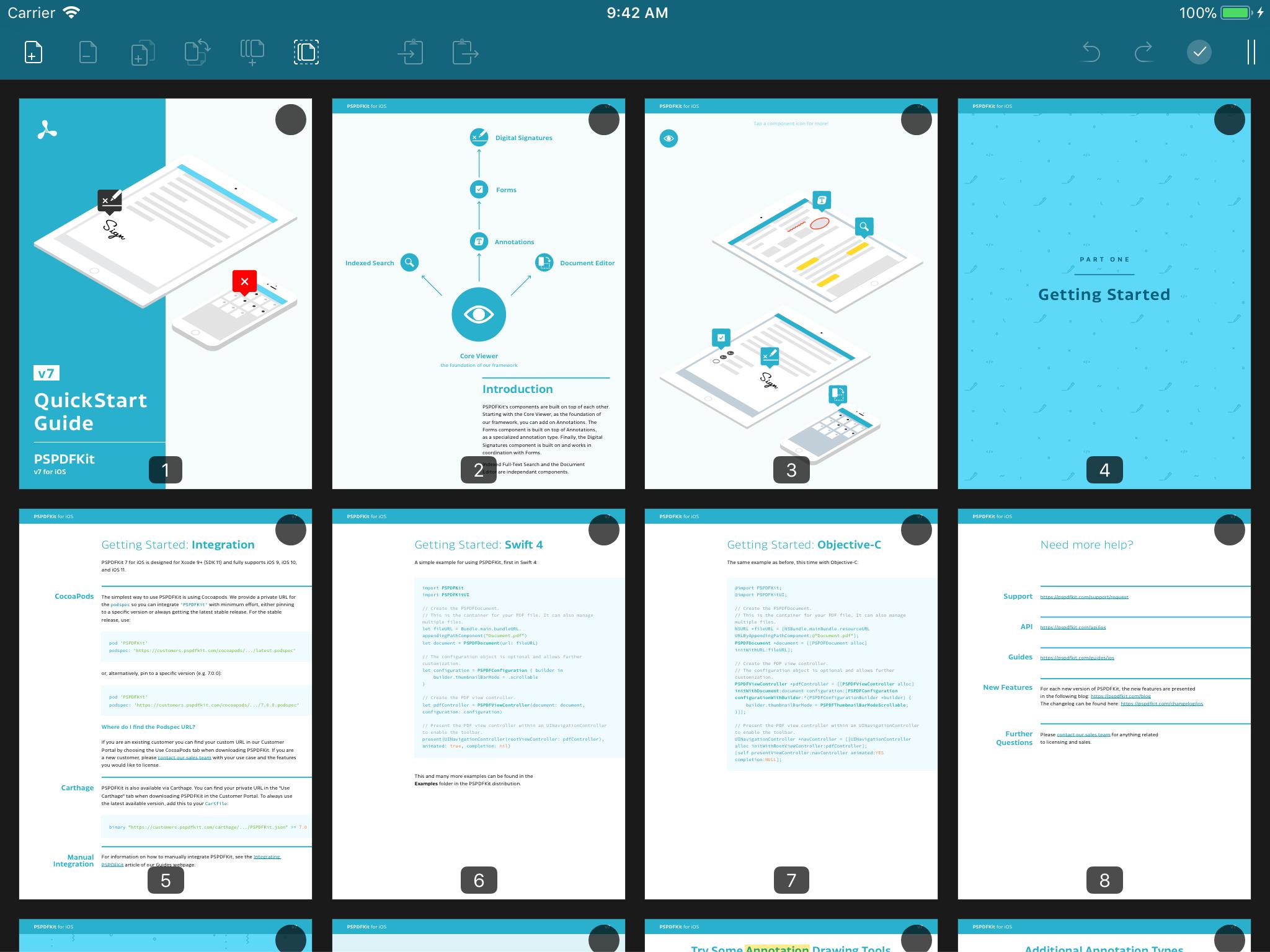 Document Editing UI | PSPDFKit