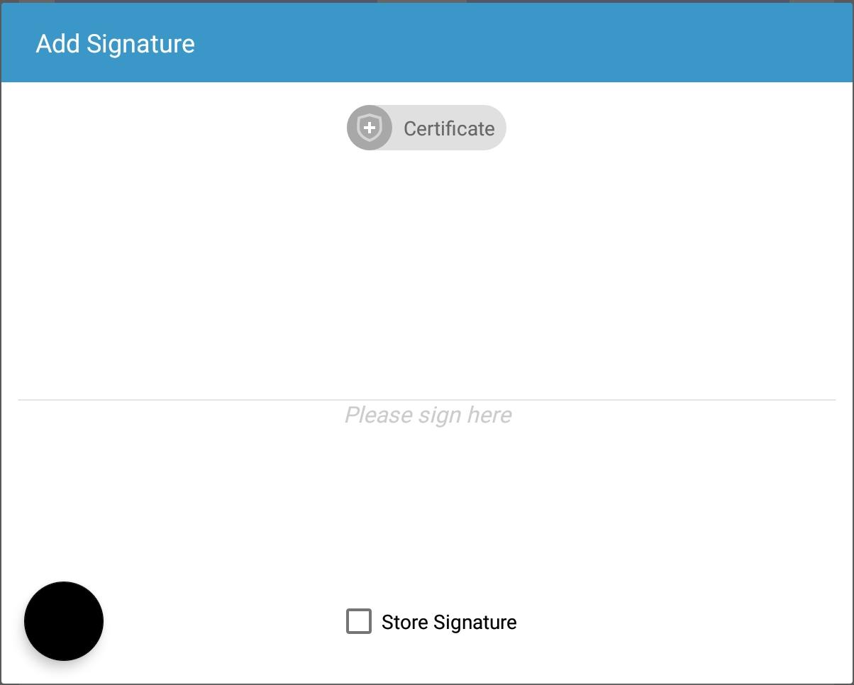 Digital Signatures   PSPDFKit