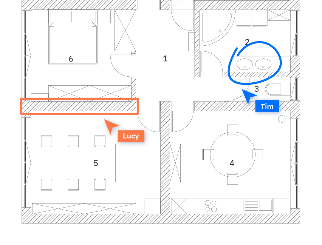Blueprint with shared annotations